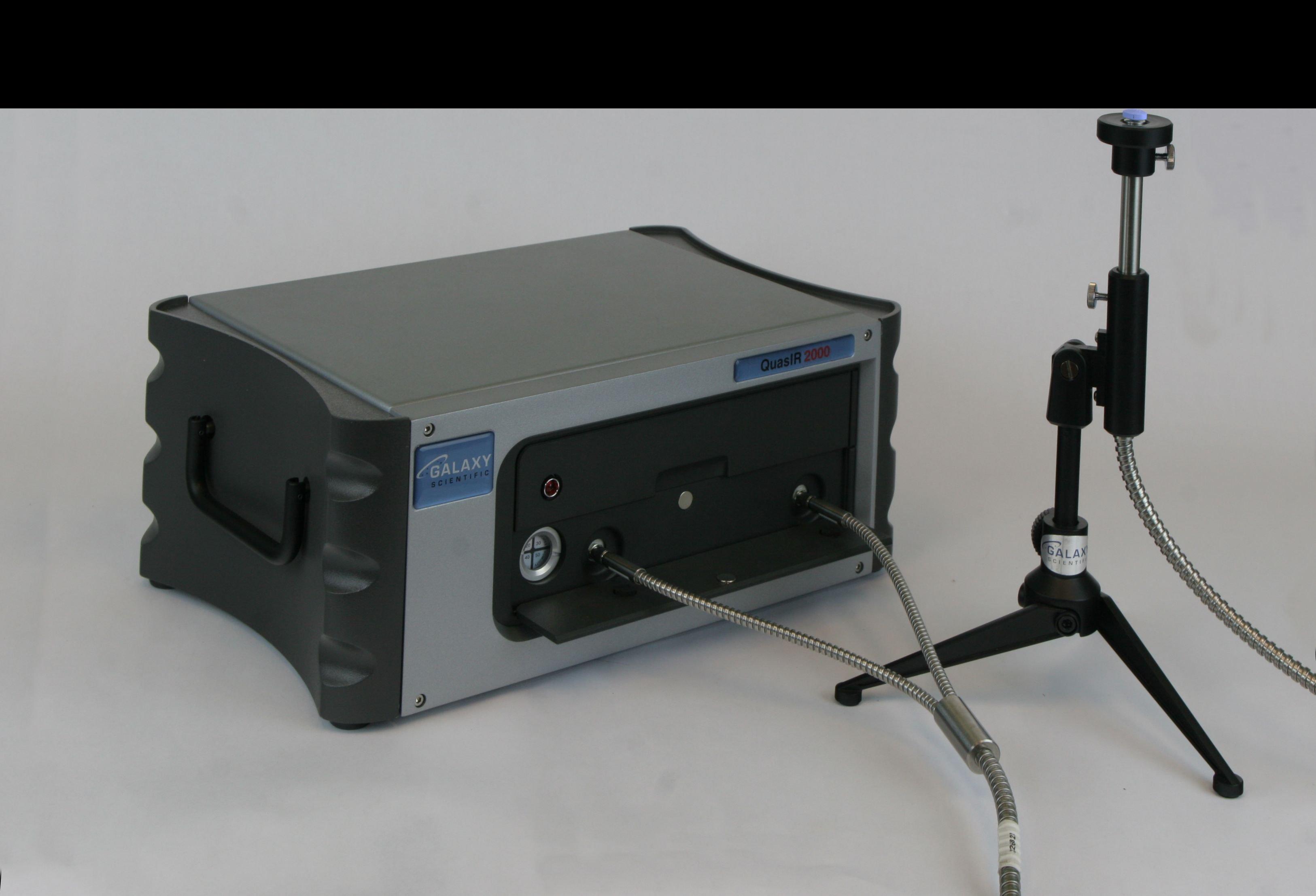 QuasIR 2000 FT-NIR with fiber optic probe and stand