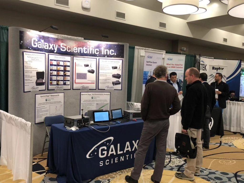 Galaxy Scientific's Display of NIR Analyzers at EAS19